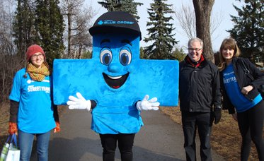 Alberta Blue Cross is going for gold with the AMA Youth Run Club